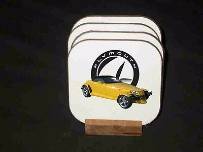 NEW Plymouth Prowler Hard Coaster Sets! (Many different sets available)