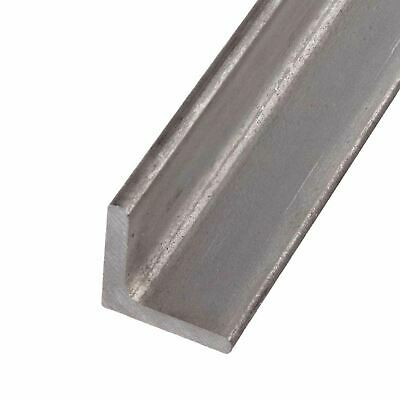 "304 Stainless Steel Angle, 1-1/2"" x 1-1/2"" x 3/16"" x 12 inches"