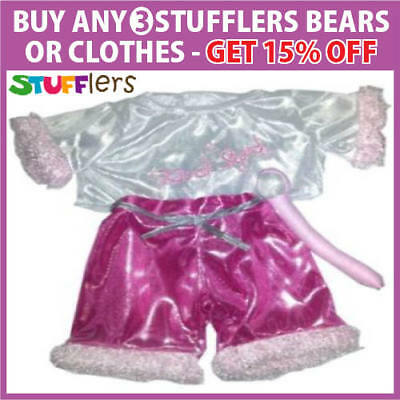 Singer Clothing Outfit by Stufflers – Fits Medium Sized 40cm Plush Toys