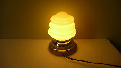 Antique Art Deco Vintage Table Lamp c1940's