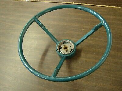NOS OEM Ford 1957 Fairlane Steering Wheel Green