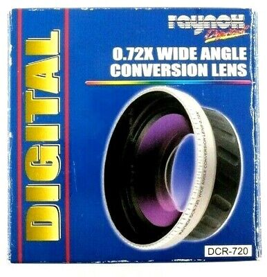 Raynox DCR720 .72X Super Wide Lens 52mm