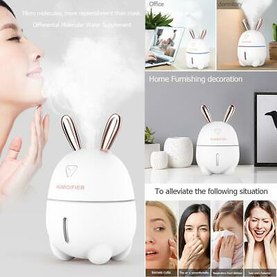 300ml USB 7 Color Night Light Ultrasonic Air Humidifier Essential Oil Diffuser