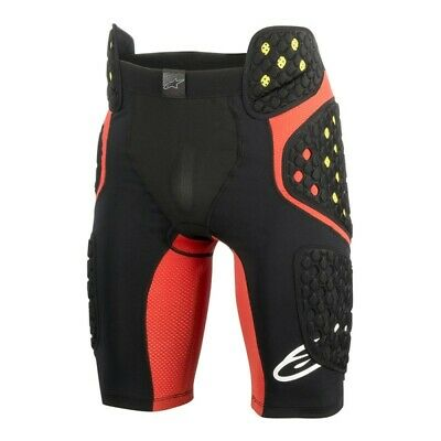 Alpinestars Sequence pro Under Shorts Schwarz/Rote