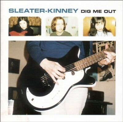 Sleater-Kinney - Dig Me Out - Sleater-Kinney CD V3VG The Cheap Fast Free Post