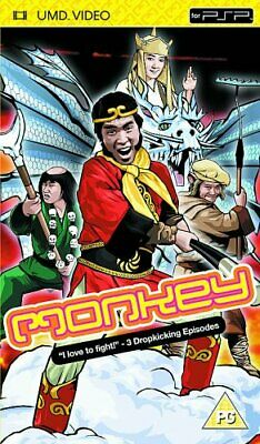 """""""Monkey! - Episodes 6, 25 And 26 (UMD)  """" - DVD  2IVG The Cheap Fast Free Post"""