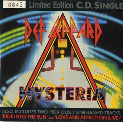 Def Leppard - Hysteria - Def Leppard CD 7GVG The Cheap Fast Free Post The Cheap