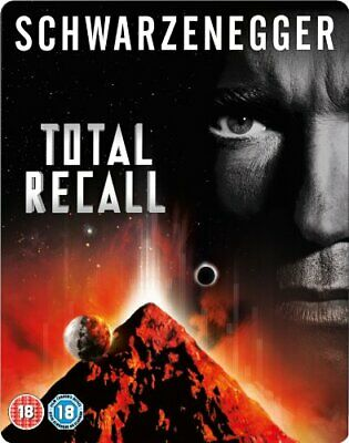 Total Recall (Triple Play Steelbook Edition) [Blu-ray] [1990] - DVD  TGVG The