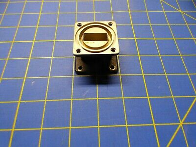 WR90 to WR112 Waveguide Transition Step down from WR112 to WR90