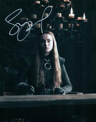 Sophie Turner signed 8x10 Picture Photo autographed with COA