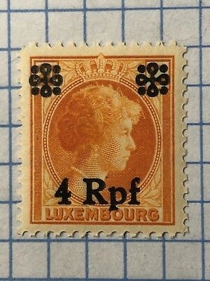 Germany LUXEMBOURG 1940, WWII-GERMAN OCCUPATION  4 Rpf. MNH  /S1