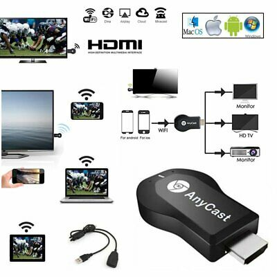 DLNA 1080P WiFi HDMI Anycast Miracast Airplay TV Wireless Display Dongle Adapter
