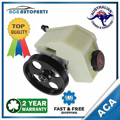 Power Steering Pump w/ Reservoir & Pulley for Ford Falcon BA BF FG 6 Cyl 2008-14