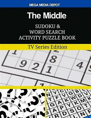 The Middle Sudoku Word Search Activity Puzzle Book TV Series by Depot Mega Media