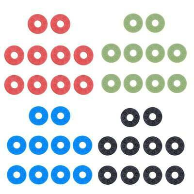 10pcs Strap Locks Rubber Pads Washers for Acoustic Guitar Bass Parts Accessories