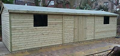 Strict 30x12 19mm Heavy Duty Tanalised Pressure Treated Summerhouse Garden Structures & Shade