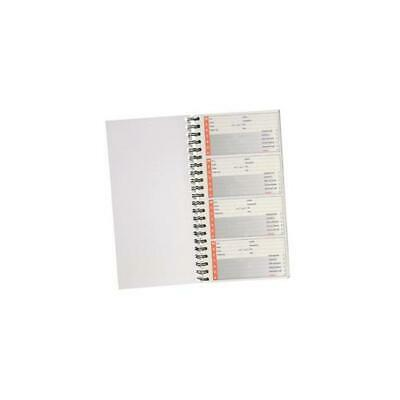 5 Star Telephone Message Book Wirebound Carbonless Sticky 320 Notes 80 Pages 279