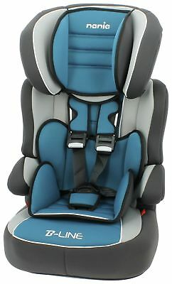 TT Nania Beline SP LX Group 1 2 3 Car Seat and High Back Booster Agora Petrole