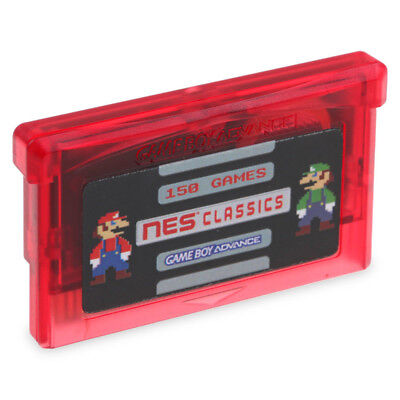 150 in 1 NES FC Game Card Cartridge For GBA SP GBM NDS NDSL Save Zelda Mario