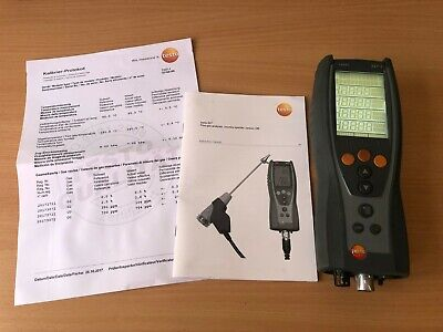 TESTO 327-1 Flue Gas Analsyer SN 03168198  NO CURRENT CALIBRATION