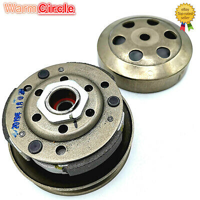 GY6 50 80cc Engine Clutch Assembly for Scooter Moped Atv Quad Go-Kart