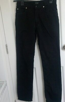 "SLIM FIT running small Versace Jeans /""Slim RIC VJ f.do18/"" men/'s black jeans"