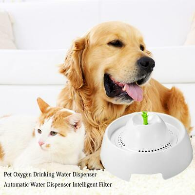 Automatic Electric Pet Water Spray Fountain Dog/Cat Drinking Bowl Drinkwell