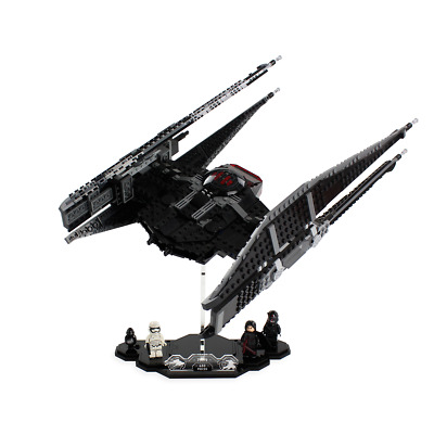 Display stand for LEGO Star Wars: Kylo Ren's TIE Silencer (75059)