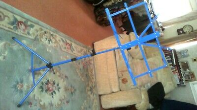 Blue Fold Up Music Stand