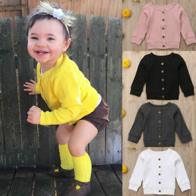 Newborn Infant Baby Girl Boys Clothes Winter Knit Sweater Romper Tops Jumpsuit