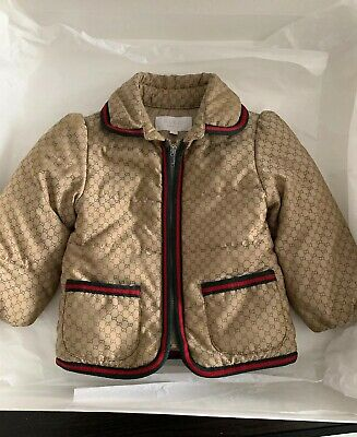 ee7ead37f GUCCI BABY GIRLS Pink Down Padded Ski Jacket Coat 24 Months ...