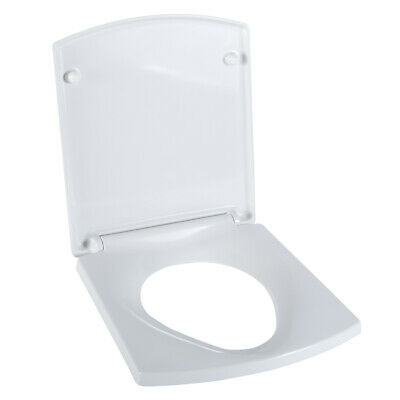 Luxury Bathroom SOFT CLOSE TOILET Pan Seat With Lid White FITTINGS INCLUDED