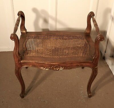 A French Louis Philippe Walnut Boudoir Window Seat