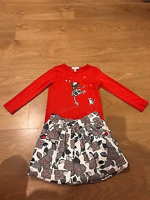 Girls Lili Gaufrette Skirt And Top Age 4