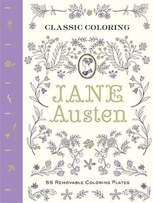 Classic Coloring: Jane Austen: 55 Removable Coloring Plates by Abrams Noterie