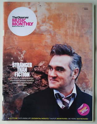 MORRISSEY / THE SMITHS RARE The Observer Music Monthly Magazine March 2006
