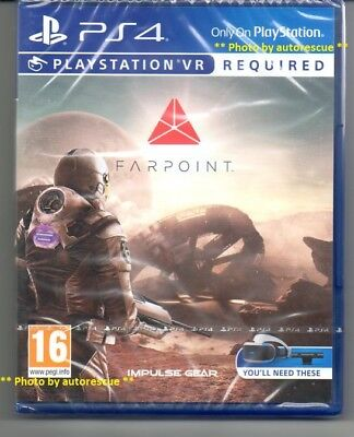 Farpoint VR   {PS VR REQUIRED} 'New & Sealed'  *PS4(Four)*