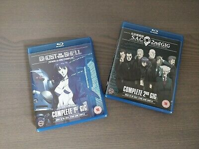 Ghost in the Shell (Stand Alone Complex) 1st & 2nd Blu-ray Set
