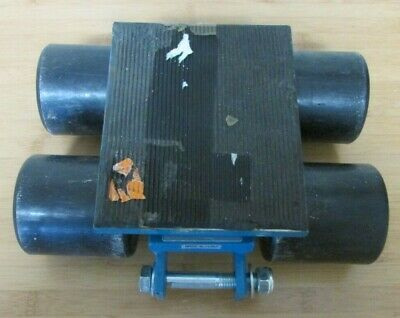 SSKT-3 Steerable Machinery Skate 4 Nylon Rollers 6600 Lbs Or 3 Ton No Handle