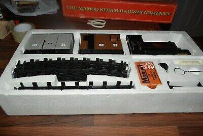 Mamod Live Steam Railway RS1 RS3 Train Set Wagons and Loco.excellent used