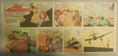Jack Armstrong The All American Boy by Bob Schoenke 1/16/1949 Third Size Page !