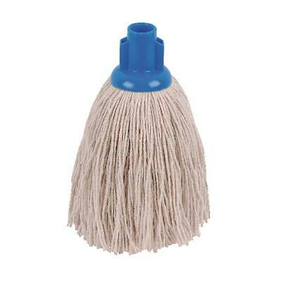 2Work 12oz Twine Rough Socket Mop Blue Pack of 10 PJTB1210I