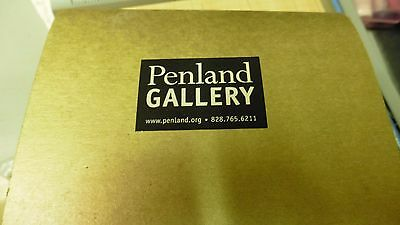 PENLAND GALLERY Handmade Wood Ornament 1 solid piece of wood split for feathers