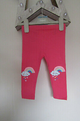 Rainbow Design Leggings Ages 9-12/12-18/18-24/2-3