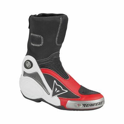 DAINESE R AXIAL Pro en Bottes BlancDucati Rouge