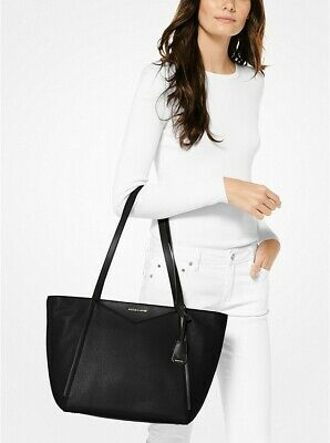 fc8ab860ee98bc MICHAEL Michael Kors Large Tote Bag Whitney Signature Logo New w/tags 298.00