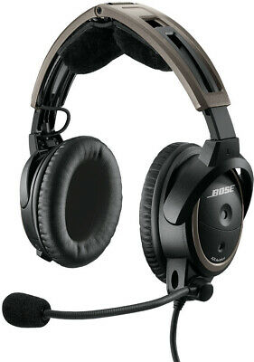 Bose A20 Aviation Headset WITHOUT Bluetooth Battery Powered U174 Heli