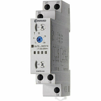 Conrad CMFR-66 Time Delay Relay 1 CO SPDT-CO 12-240V DC/AC