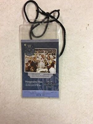 Indianapolis 500 2010 Hospitality Pass For Qualifications With 3 Tickets