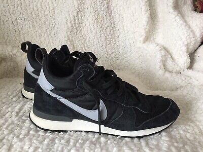 pretty nice 6fc8d 681c3 Nike Internationalist Mid Black White-White-Wolf Grey 682844-001 Men s Size